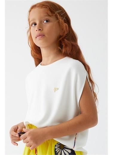 Lia Lea Bluz Beyaz